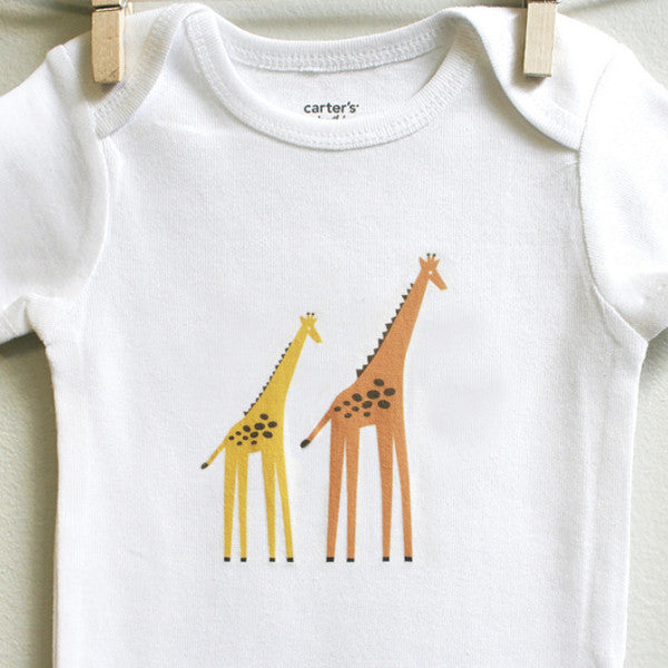 06afd6202 Giraffes Baby Clothes, Baby Bodysuit, 3 mos-12 mos - Buy Online Now! –  square paisley design