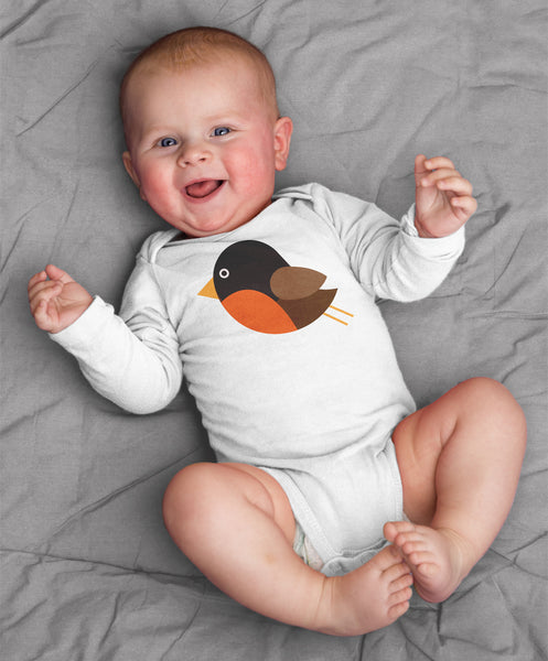 Robin Baby Bodysuit for Baby Boy or Baby Girl