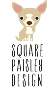 square paisley design