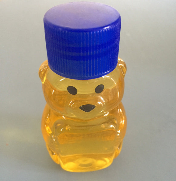 Mini Bear with raw honey (2 oz)