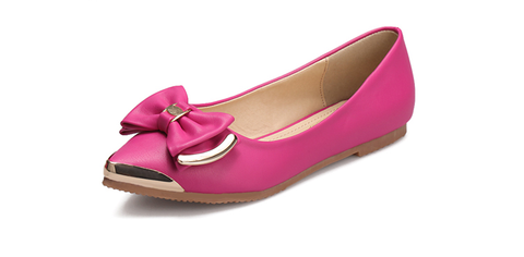 Womens Posh Bow Flats