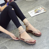Trendy Ankle Cross Strap Stylish Sandals