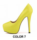Beautiful Candy Pump Stiletto Stylish High Heels