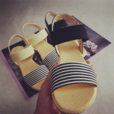 Cool Casual Stripe Sandals