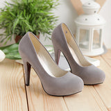 Classic Close Toe Pump Work Office Heels