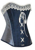 Hot Stylish Denim Corset Top