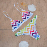 Beautiful Design Print Vibrant Bikini