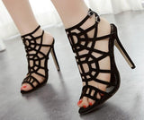 Lovely Design Open Ankle Sandal High Heels