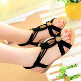 Cool Knit Casual Summer Sandals