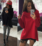 Hot High Collar Long Sleeve Stylish Top