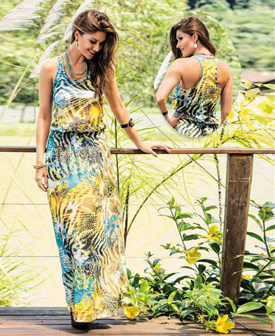 Modern Stylish Long Summer Maxi Dress