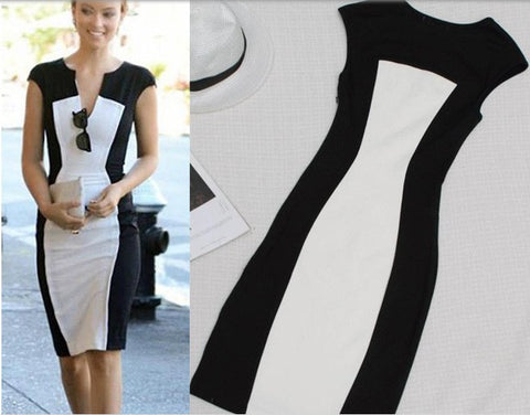 Trendy Slim Fashionable Party Dress