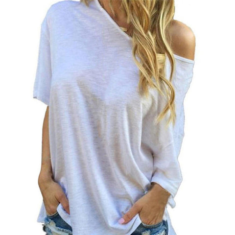 Cool Casual Off Shoulder Summer Shirt