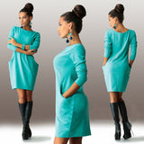 Beautiful Slim Hip Casual Work Dress