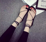Trendy String Ankle Wrap Casual Sandals