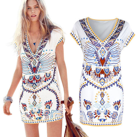 Hot Summer V-Neck Stylish Dress
