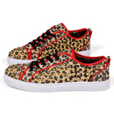 Mens Trendy Low-Top Studded Sneakers