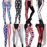 Womens Trendy Print Slim Stylish Leggings