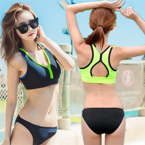 Womens Cool Athletic Style Bathing Swimsuit