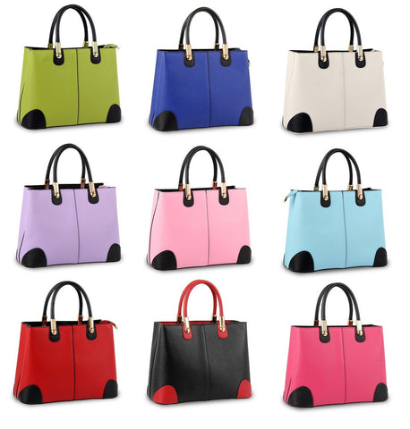 Womens Charming Classic Everyday Handbag