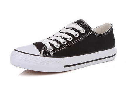 Mens Classic Canvas Low-Top Casual Shoes