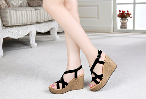 Womens Fun Playful Wedge