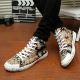 Mens Stylish Design Casual Sneakers