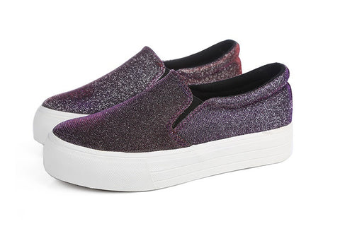 Womens Casual Trendy Slip-On Sneaker