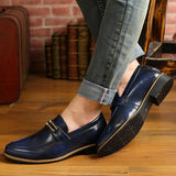 Mens Cool Slip-On Casual Dress Shoes