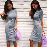 Trendy Cool Casual Slim Hip Party Dress