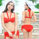 Urban Cross Strap Stylish Swimsuit Bikini