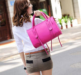 Vintage Style Leather Tote Handbag