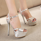Stylish Sequins Party Pump Stiletto Heels