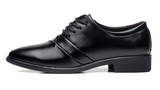Mens Trendy Black Work Dress Shoes