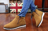 Mens Cool Cotton Lined Casual Boots