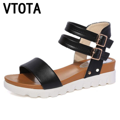 Womens Fashion Summer Sandals Sandals Wedges Open Toe Sandals Platform Soft Breathable Shoes