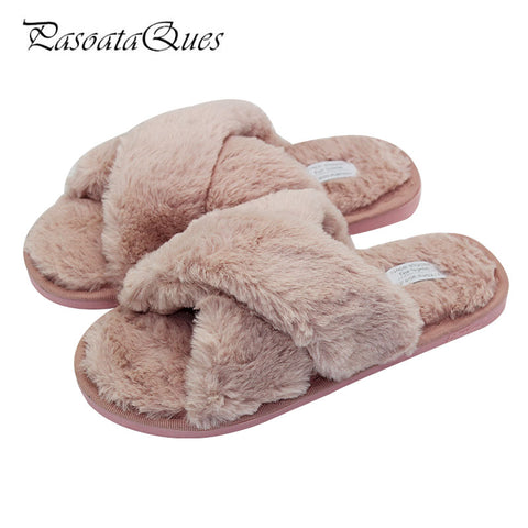 Womens Winter Autumn Home Shoes Comfortable Indoor House Slippers