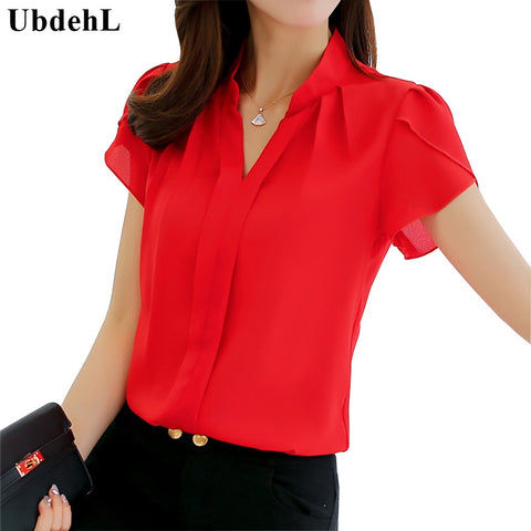 Womens Stylish Casual Office Party OL Work Shirt