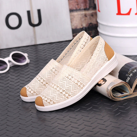 Womens Summer Comortable Casual Flats Outdoor Shoes