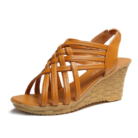 Womens Sandals Open Toe Platform Summer Shoes Wedge Sandals