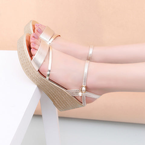 Womens Sandals Fashion Comfortable Bohemian Wedges Sandals