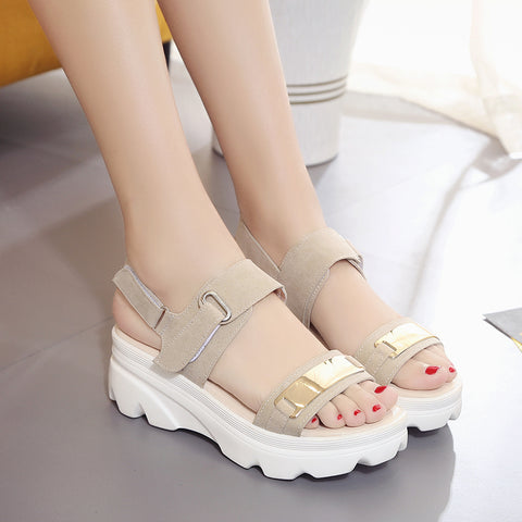 Womens Summer Sandals Fashion Comfortable Wedges Sandals