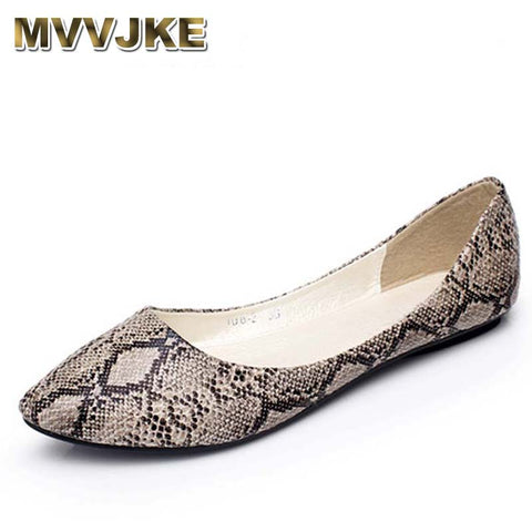 Womens Ballerina Point Toe Breathable Vintage Flats
