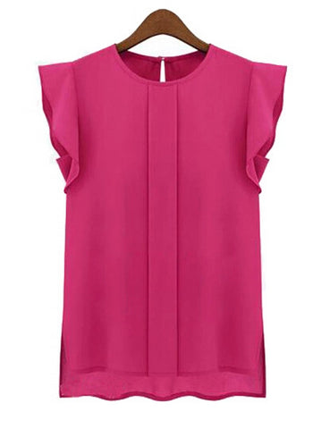 Lovely Smart Casual Chiffon Top