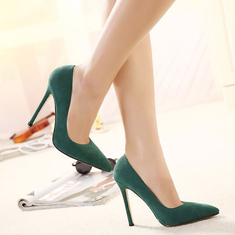 Classic Close Toe High Heel Pumps