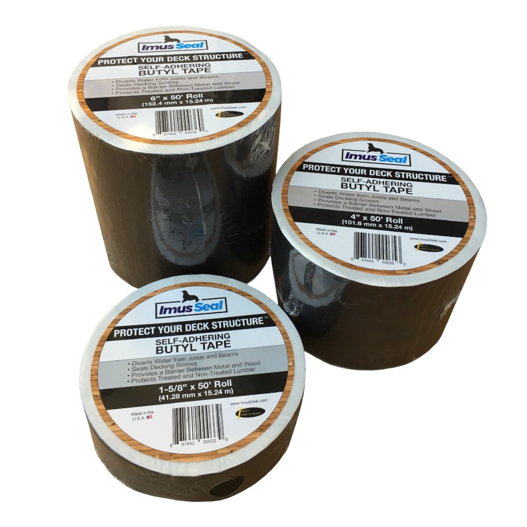 Imus Seal 1-5/8, 4 and 6 inch rolls