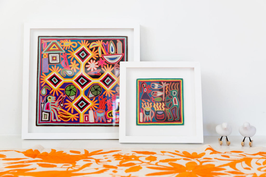 THE ANCIENT ART OF HUICHOL YARN PAINTINGS