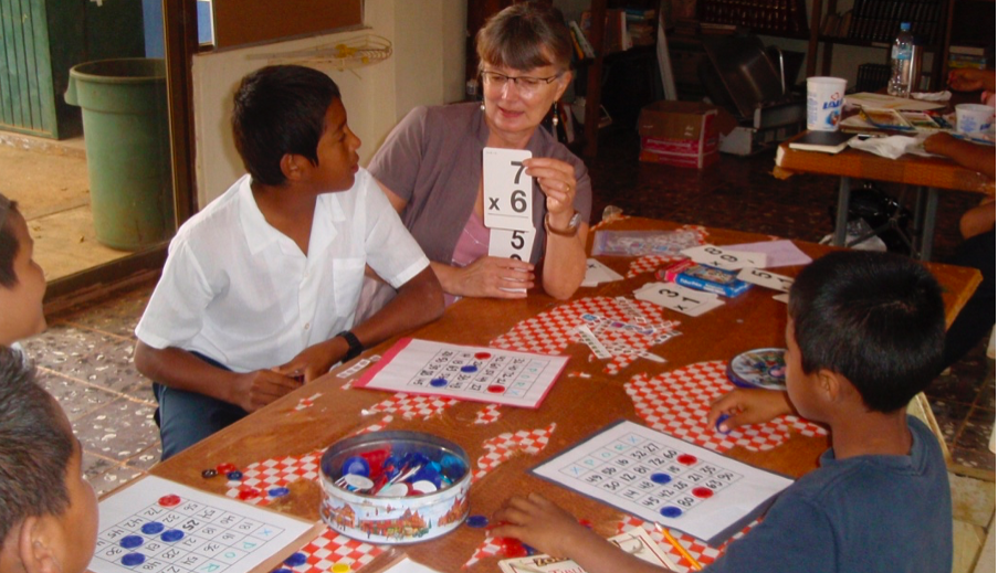 LOW TECH SOLUTIONS BUILD MATH SKILLS IN RURAL VILLAGE SCHOOL // BY DIANE DOUGLAS