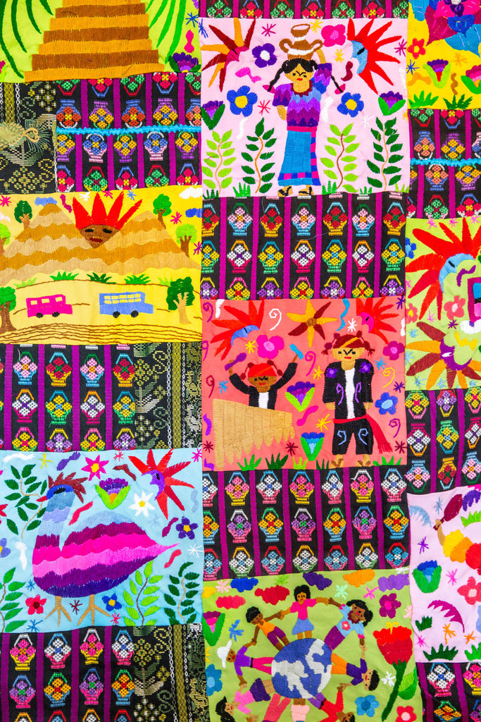 MEXICAN STORY QUILT