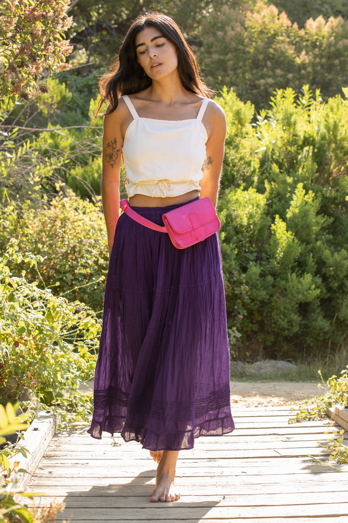 FALDA MEXICANA // PURPLE